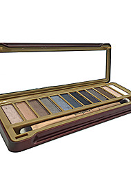 12 Eyeshadow Palette Shimmer Eyeshadow With Brush NK-1