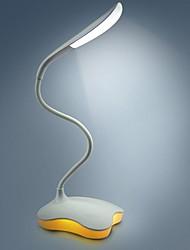 2 W Azul / Branco Quente Bateria Regulável / Recarregável Luzes de Presença / Luz de Leitura LED / Lâmpadas de Mesa LED 5V V Plástico