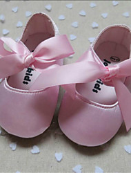 Girl's Flats Spring / Fall Comfort / Round Toe Silk Outdoor Pink