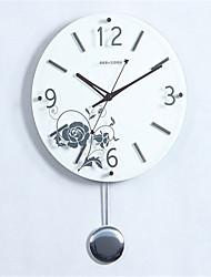 Autres Moderne/Contemporain Horloge murale,Autres Polyester 36*36*8