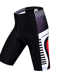 Wosawe® Cycling Padded Shorts Unisex Breathable / Quick Dry / 3D Pad / Limits Bacteria / Sweat-wicking BikeShorts / Padded Shorts/Chamois
