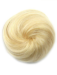 Kinky Curly Gold Europe Hepburn Human Hair Weaves Chignons 1003