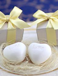 Recipient Gifts - 1 Piece/Set, Heart Soap Wedding Favor