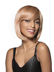 wonderful Short Bob Remy Hand Tied Top wig for Woman's