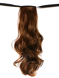 Wig Brown 50CM High-Temperature Wire Strap Style Long Hair Ponytail Colour 12