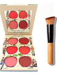 la lèvre b @ lm et de la crème de la joue palette + 1 pièces de haute qualité en poudre brosse