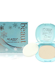 Fei Beauty® Powder Dry Powder Coverage / Whitening / Oil-control / Uneven Skin Tone / Natural /Brightening Face