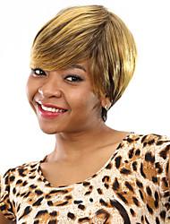 жаростойкие дешевые поддельные волосы парик короткие прямые синтетические парики для женщин
