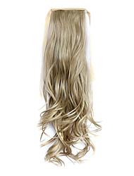 flaxen comprimento 50 centímetros peruca de cabelo tipo de cinto cavalinha melange encaracolado sintético (cor 16/613)