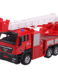 Dibang - children's toys alloy car models 1:55 glide truck model toy cars Fire ladder truck (6PCS)