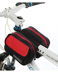 ROSWHEEL® Bike Bag 1.7LBike Frame Bag Waterproof Zipper / Moistureproof / Shockproof / Wearable Bicycle Bag PVC / Cloth / TeryleneCycle
