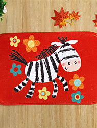 "Hot Sale New Designed Coral Fleece Material Non-Slip Rectangle Mat W16"" x L24"""