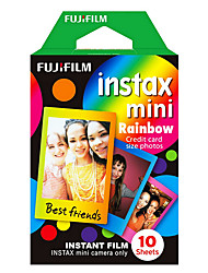 fujifilm couleur arc-en-instax films