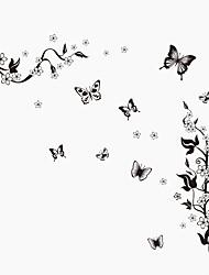 Животные ботанический Натюрморт Мода Цветы Винтаж Отдых Наклейки Простые наклейки Декоративные наклейки на стены материал Съемная