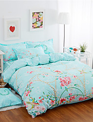Yuxin®A Family of Four Cotton Twill Activity of Large-Sized Flower Cotton kit  Bedding Set
