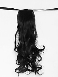wasser weiß welle synthetischen Verband Typ Haar Perücke Pferdeschwanz (Farbe 1)