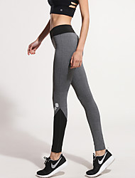Running Tights / Bottoms Women's Breathable / Quick Dry / Compression / Sweat-wicking / Stretch TeryleneYoga / Exercise & Fitness /