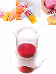 Cup Cake Hole Maker Cake Cream Decoration Maker Cake Corer Random Color