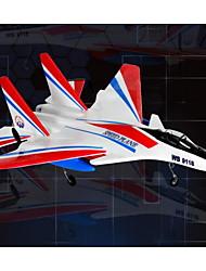 ws 9118 espuma de 2 canais rc avião