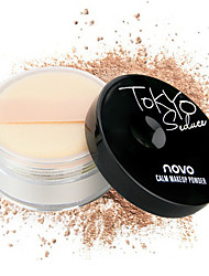 NOVO Aqua Mineral Powder Oil Control Skin Sunscreen Brighten Complexion Matte Powder Powder 15g