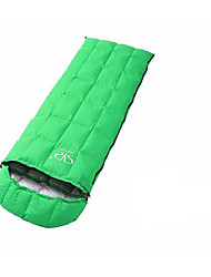 Sleeping Bag Rectangular Bag Single 20 Duck Down 1500g 180X73 Camping / Beach / Traveling