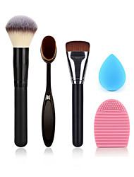 escova de ovo em pó maquiagem escova fundação escova escova de limpeza e esponja de maquiagem tamanho pequeno