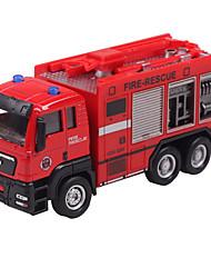 voiture inertie jouet camion poubelle 01:42 alliage modèle de voiture jouet camion poubelle enfants (3pcs)