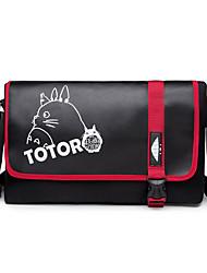 Bolsa Inspirado por Meu Vizinho Totoro Gato Anime Acessórios de Cosplay Bolsa Preto Tela Masculino / Feminino