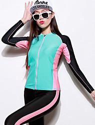 Outros Mulheres Macacão de Mergulho Longo Fato de Mergulho Impermeável / Resistente Raios Ultravioleta Mergulho Skins Sob 1,5 milímetros