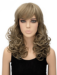 Women Long Body Wave Blonde Color Top Quality Synthetic Wig