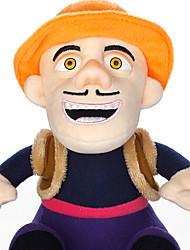 New Bear Bear Two Bald Strong Plush Doll Plush Toy Bear Infested Setsurei Bear Plush Bald Strong Wind 38Cm