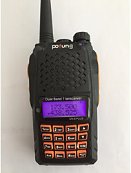 BAOFENG UV-6 PLUS Walkie Talkie 7W 128 136-174MHz / 400-520MHz 1800mAh 1.5 km -3 kmFM Radio / Sprachansage / Dual - Band / Dual - Anzeige