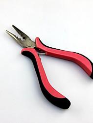 3 buracos acessórios para o cabelo extensões de ferramentas de aço inoxidável rosa alicate direto para XTensions cabelo micro links / i