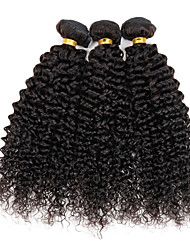 3 Bundles/lot 150g Unprocessed Virgin Peruvian Kinky curly Human Hair Extension