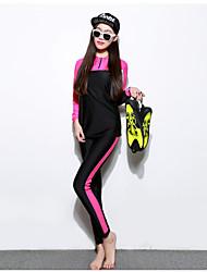 Sportif Femme Combinaison de Plongée Tenue de plongée Etanche Résistant aux ultraviolets Combinaison de plongée Moins de 1.5 mm M L XL