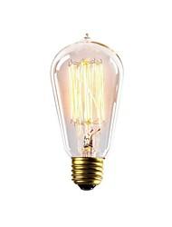 Les ampoules à incandescence 40w st58z lumière E27 éclairage des ampoules halogènes edison antique