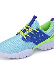 Sapatos Basquete Feminino Preto / Azul / Branco Tule