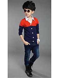 Pull & Cardigan Boy Mosaïque Printemps / Automne Coton