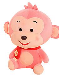 Fubao mono mono mascota del zodiaco del mono de marionetas muñeca segura rosa de peluche 25cm juguete