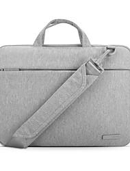 pofoko® 13/11/15 pouces sac d'ordinateur portable de tissu imperméable oxford noir / gris