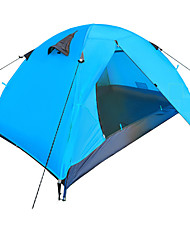 Yunyi Waterproof / Breathability / Dust Proof / Windproof / KEEP WARM PU Leather One Room Tent Blue / Orange