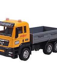 Dibang - children's toys alloy car models 1:55 glide truck model toy car dump truck (6PCS)