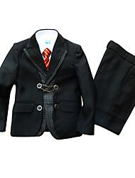 Poliéster/Algodón Vestido de Padrino - 3 Piezas Incluye Chaqueta / Chaleco / Pantalones