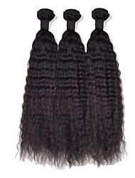 Cabelo Malaio Retas 6 meses 3 Peças tece cabelo