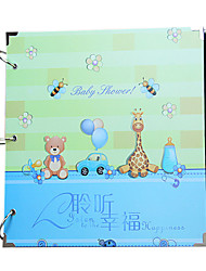 16 30pcs pouces Sidekicks carte noire album photo diy series manuel photo créative album