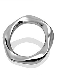 Fine Circle Ring Couple Ring