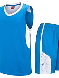 Ensemble de Vêtements/TenusSport de détente Badminton Basket-ball Course/Running-Sans manche-Homme