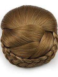 Kinky кудрявый карие профессия шнурка человеческих волос парики шиньоны 2005