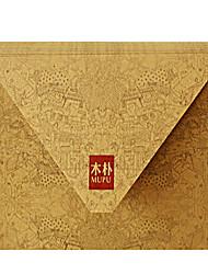 blank envelope kraft (16 * 12 centímetros)