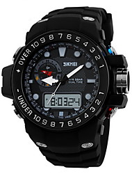 Men's Military Fashion Analog Digital Dual Time Waterproof Sports Watch